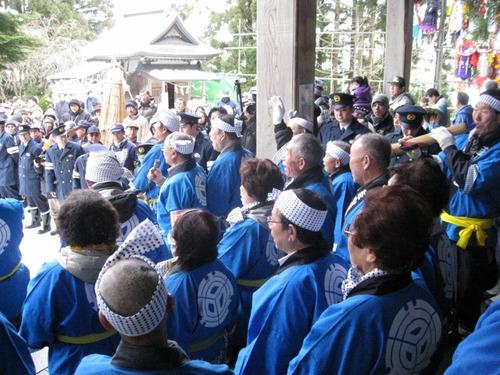 三吉神社梵天まつり