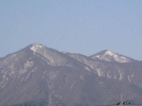 鶴ガ岳の雪形