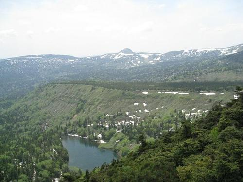 熊沼と畚岳
